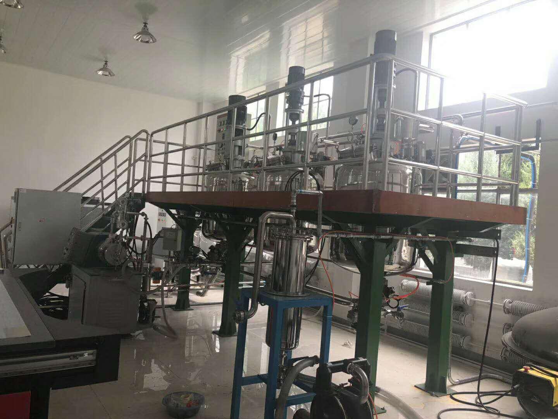 赛德丽为中科院提供的特种涂层新材料中试生产线安装完成!