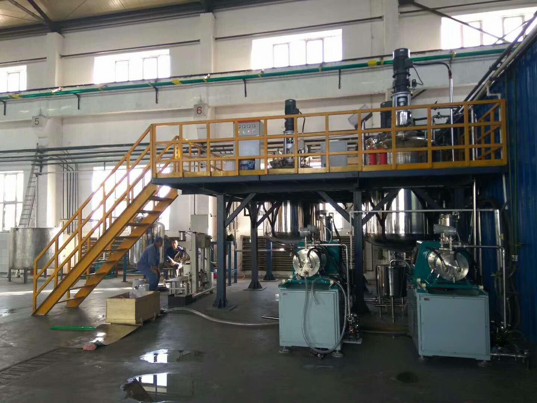 赛德丽为齐齐哈尔现代化工建设的防腐漆生产线设备