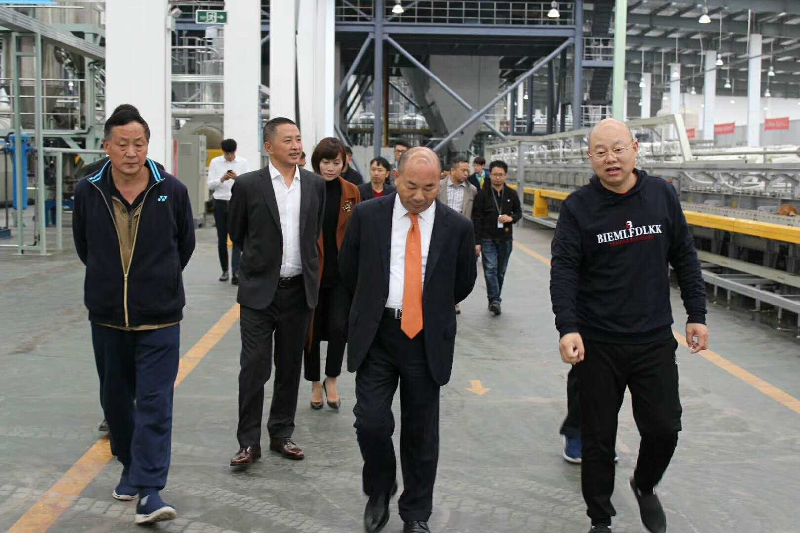 世界500强正威集团莅临贵州赛德丽考察新能源项目